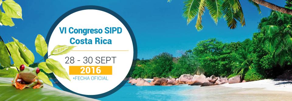 VI Congreso SIPD, Costa Rica 2016